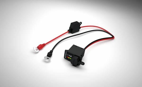 CTEK Battery Chargers - CTEK Battery Chargers Comfort Indicator Panel, Flat pin connector