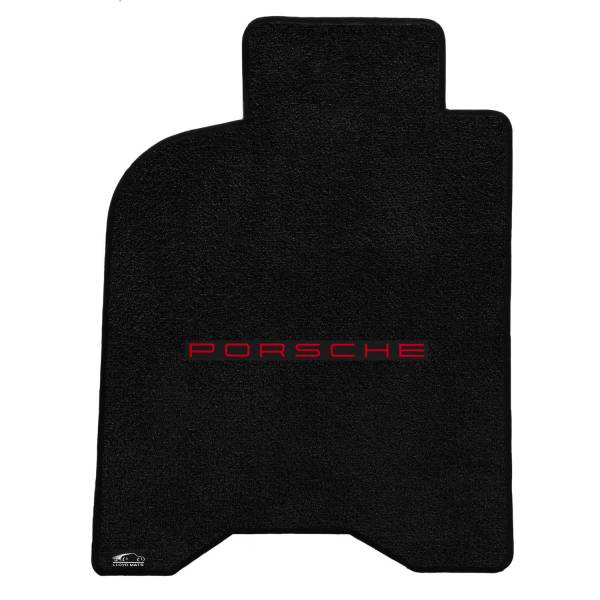 Lloyd Mats - Lloyd Mats 911 (964) CARRERA 2 1989-1994 4PC Mats BLACK ULTIMAT PORSCHE LOGO