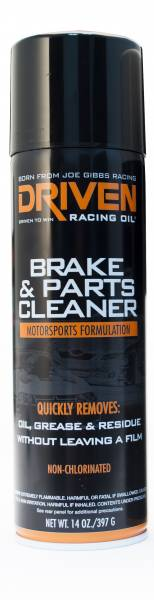 Driven Racing Oil LLC - Driven Racing Oil LLC Brake Cleaner, Non-Chlorinated Aerosol - 397g Can
