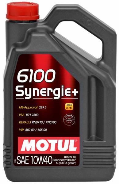 Motul - Motul 6100 SYNERGIE+ 10W40 - 5L - Technosynthese Oil