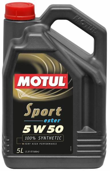 Motul - Motul SPORT 5W50 - 5L - Synthetic Engine Oil