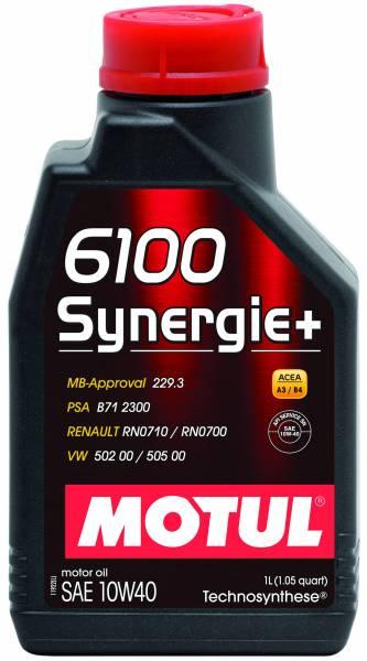 Motul - Motul 6100 SYNERGIE+ 10W40 - 1L - Technosynthese Oil