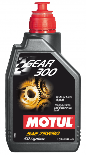 Motul - Motul GEAR 300 75W90 - 1L - Fully Synthetic Transmission fluid - Ester based