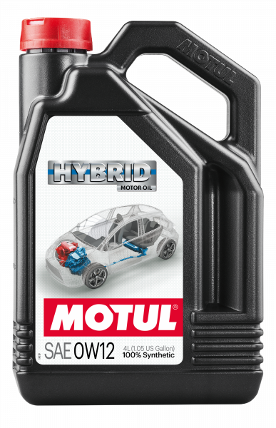 Motul - Motul HYBRID 0W12 - 4L - Synthetic Engine Oil