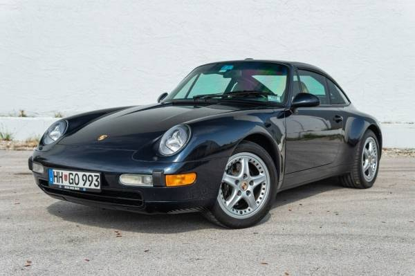 Cars For Sale - 1996 Porsche 911 Carrera 2dr Targa Coupe
