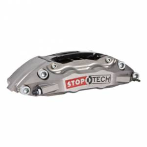 StopTech - StopTech Trophy Sport Big Brake Kit; Silver Caliper, Slotted 2 Pc. Rotor, Rear - Image 3