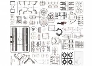 Porsche Carrera Racing Engine - 1:3 Scale Model Kit - Image 6