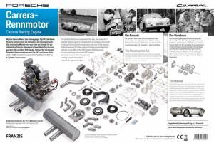 Porsche Carrera Racing Engine - 1:3 Scale Model Kit - Image 10